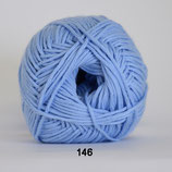 Organic Cotton col.146 blauw