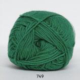 Cotton nr.8 col.749 kerstgroen