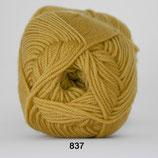 Extra Fine Merino col.837 geel-groen