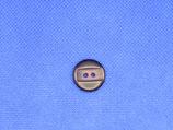 Knoop donker paars 18mm