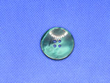 Knoop groen parelmoer 28mm