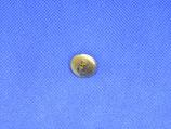 Knoop anker goud kleur 15mm