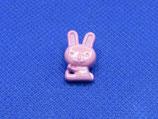 Knoop konijntje 10mm breed-15mm hoog