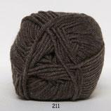Merino Cotton col.211 midden bruin
