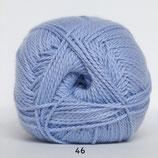 Blød Bomuld col.46 licht blauw