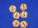 Knopen hout Eifeltoren 20mm (6 stuks)