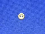 Knoop beige transparant 11mm