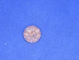 Knoop licht roze transparant 18mm
