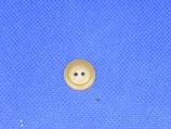 Knoop licht bruin 15mm