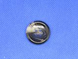 Knoop bruin gevlekt 25mm