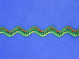 Stoffen band zigzag 8mm