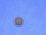 Knoop blauw 4 gaten 18mm