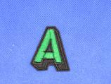 Stoffen geborduurde letters 4cm hoog