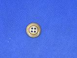 Knoop bruin gevlekt 18mm