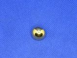 Bol knoop glans goud kleur 15mm