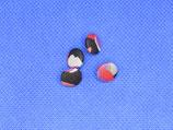 Stofknoop met meer kleuren 10mm