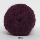 Hjerte Alpaca col.9235 bordeaux