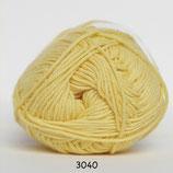 Cotton nr.8 col.3040 geel