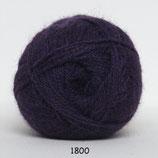 Hjerte Alpaca col.1800 paars