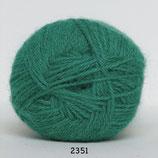 Hjerte alpaca col.2351 midden groen