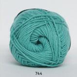 Cotton nr.8 col.744 midden groen
