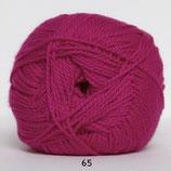Blød Bomuld col.65 knal roze