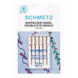Schmetz dubbel oog naald 80-12