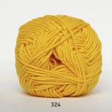 Cotton nr.8 col.324 knal geel