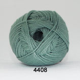 Blød Bomuld col.4408 groen-grijs (nieuw)