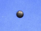 Knoop zwart (geen bolletje) 15mm
