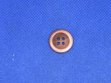 Knoop roze-bruin 18mm