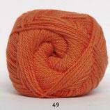 Blød Bomuld col.49 oranje