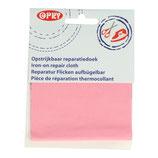 Reparatie doek roze