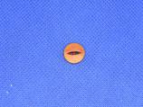 Knoop rood-bruin 11mm