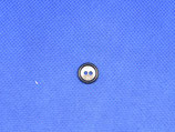 Knoop donker blauw 11mm