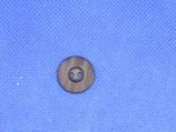Knoop blauw mat 18mm