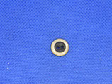Knoop licht bruin-zwart 13mm