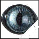 Veiligheids ogen blauw 10mm
