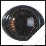 Veiligheids ogen bruin 10mm