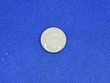 Knoop licht grijs sier 18mm