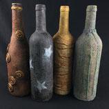 powertex stoneart mit flaschen (upcycling)