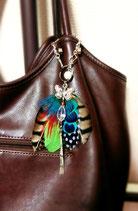 蝶と羽のファビュラスバッグチャーム