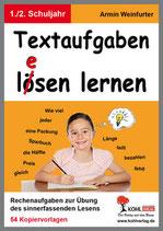 Textaufgaben lö(e)sen lernen