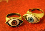 Anello Eye Marrone