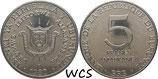 Burundi 5 Francs 1976-1980 KM#20