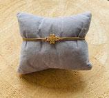 Armband Glückskleeblatt Verbinder Rosé
