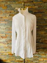 Klassische, taillierte Hemdbluse, weiß
