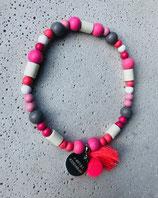 Hunde-Zecken-Halskette Pinky