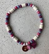 Hunde-Zecken-Halskette Lilac