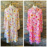 Kleid mit Blumenmuster verschiedene Farben